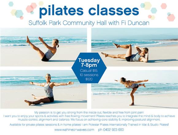 Pilates Classes in Suffolk Park Byron Bay